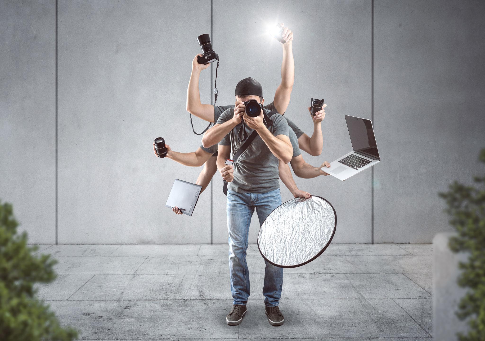 Contentproduktion Digital-Media