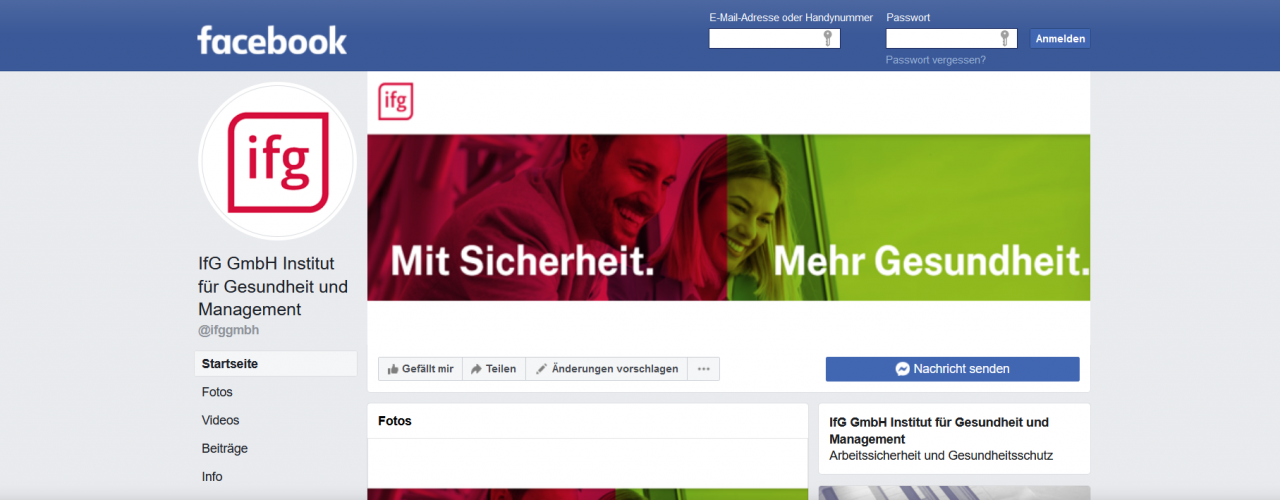 IfG Facebook